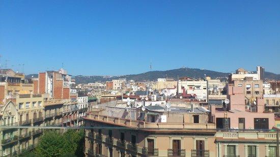 Hotel Cram: veiw from roof top terrace