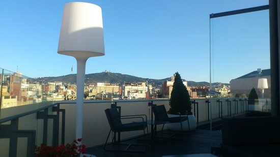 Hotel Cram: the veiw from terrace