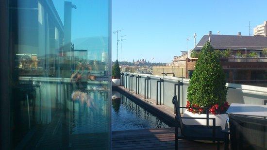Hotel Cram : the pool