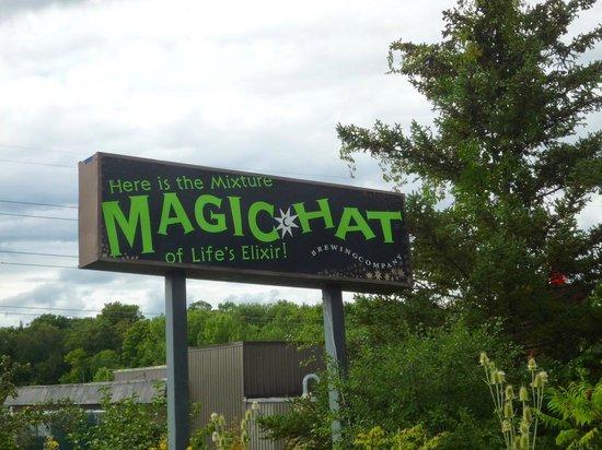 Magic Hat Brewing Company: Affiche vue de la rue
