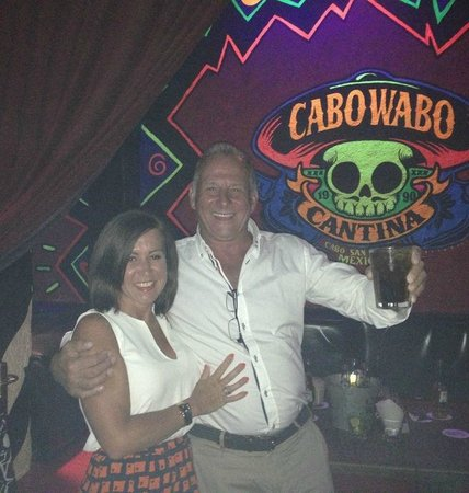 Cabo Wabo Cantina: good night out