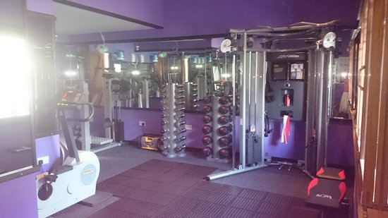 Ystalyfera, UK: hotel gym