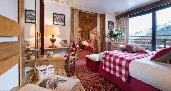 Hôtel Alpen Ruitor : Family Room
