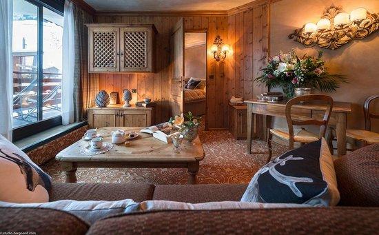 Hôtel Alpen Ruitor : Renovated Suite