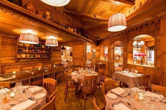 Hôtel Alpen Ruitor : Restaurant La Table du Ruitor