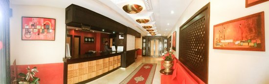 New Farah Hotel : RECEPTION