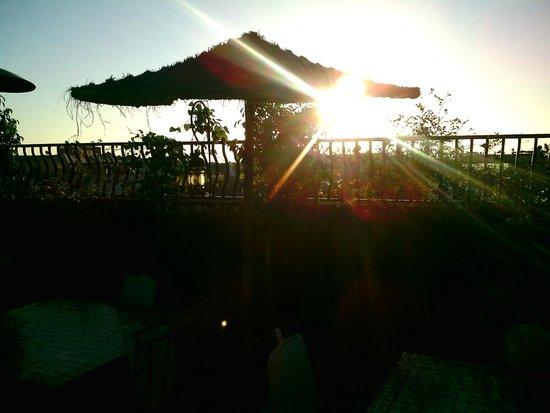 Riad Hamdane Et SPA : Al tramonto in attesa della cena