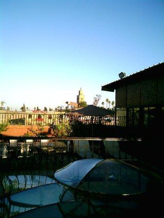 Riad Hamdane et SPA : panorama dall'hotel
