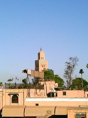 Riad Hamdane et SPA : panorama dalla terrazza dell'hotel