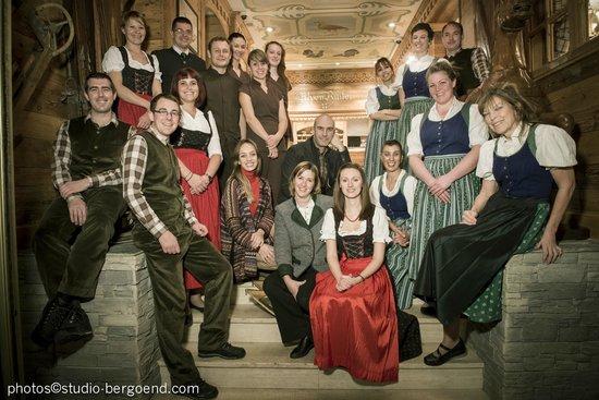 Hôtel Alpen Ruitor : L'équipe de l'hôtel