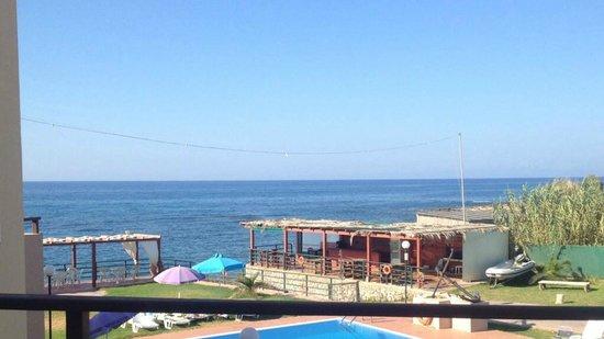 Nautica Hotel : Vue chambre 13