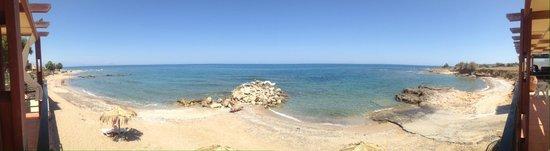 Stavromenos, Hellas: Panoramique plage / crique