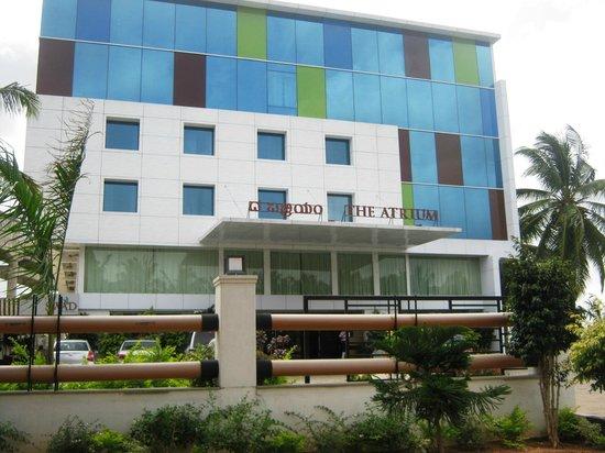 The Atrium Boutique Hotel front view