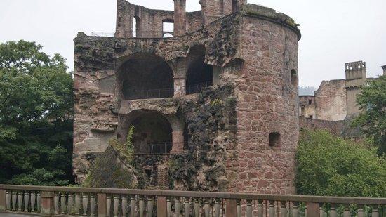 Castillo de Heidelberg: La torre di Carlotta. Per sapere la storia ... audioguide!