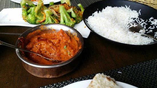 Vedas Indian Restaurant (Changshu Road) : Very spicy
