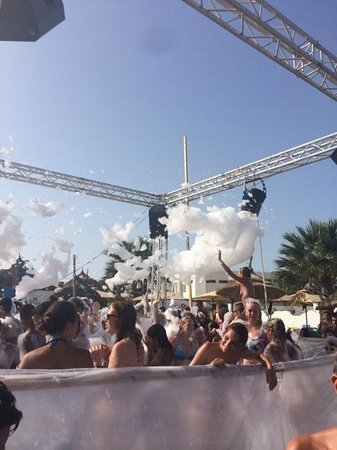 Fiesta Beach Club Djerba : mousse party