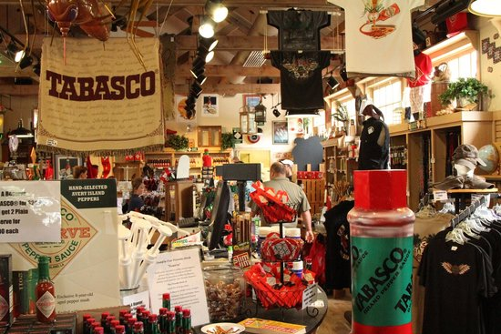 Tabasco Visitor Center and Pepper Sauce Factory: gift shop