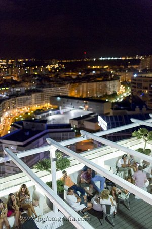 Hotel Madeira Centro: Terraza Bar #planta20