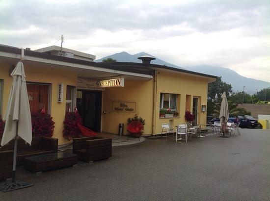 Hotel Vezia: hotel reception...