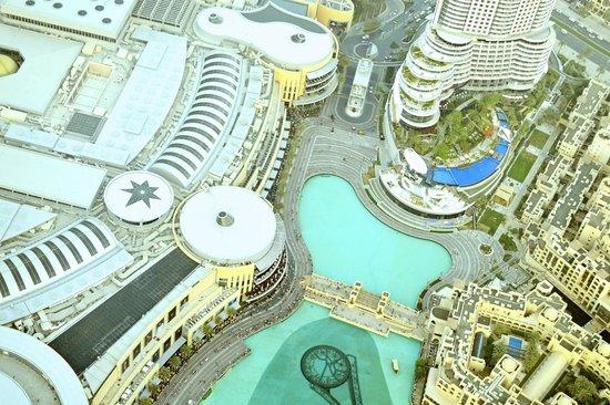 Burj Khalifa : The Dancing Fountains