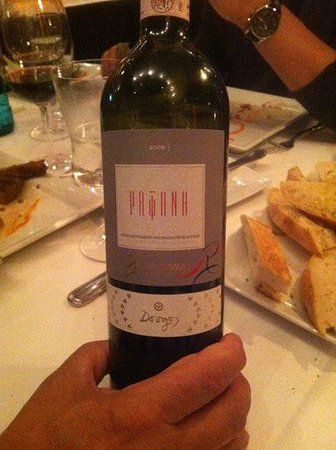 Pratirio : Some of the best Greek wines you can get - I believe it is pronounced Rapsani