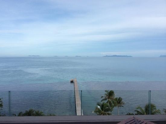 InterContinental Samui Baan Taling Ngam Resort: vista do apartamento