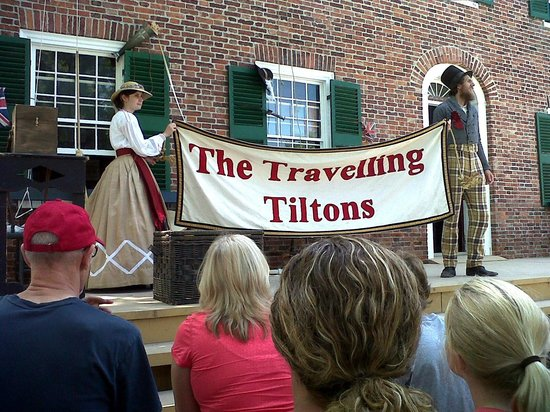 Upper Canada Village: humourous music and skits
