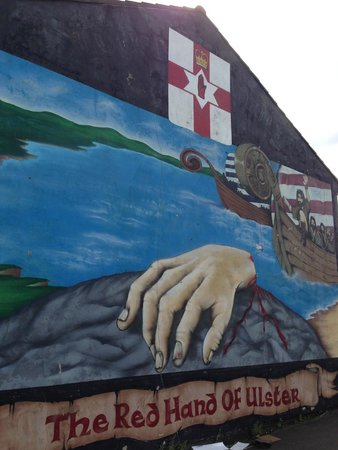 NI Black Taxi Tours: The Red Hand of Ulster