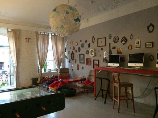 Soul Kitchen Junior Hostel: Fun room