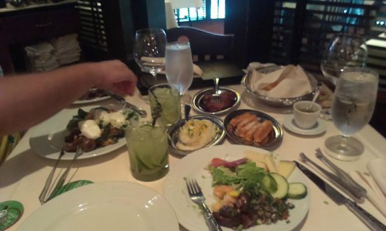 Fogo de Chao Brazilian Steakhouse : so much food)