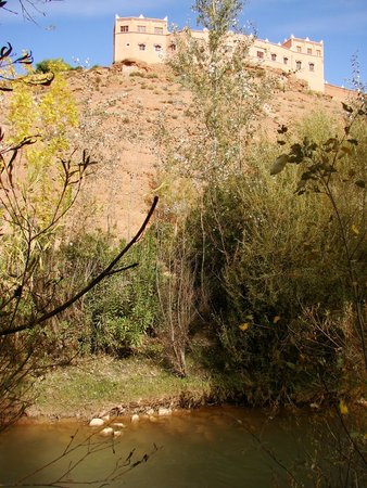 Hotel Tamlalte: Tamlalte view from Dades River