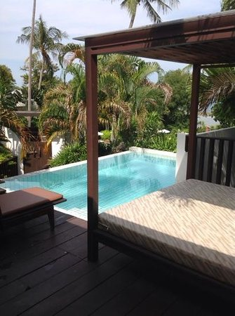 Centara Villas Samui: our pool room, 312