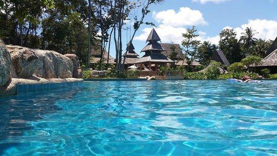 Santhiya Koh Yao Yai Resort & Spa : The place to swim