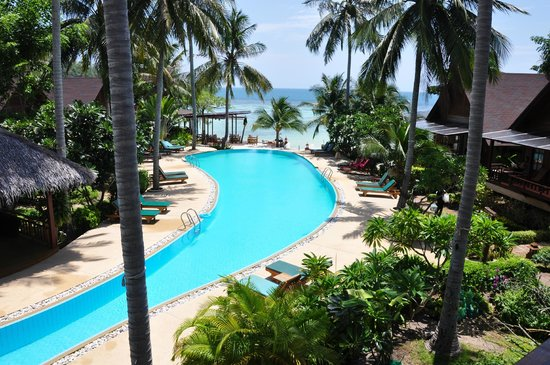 Green Papaya Resort: The Pool