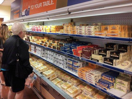 Tillamook Cheese Factory: quesos en la tienda