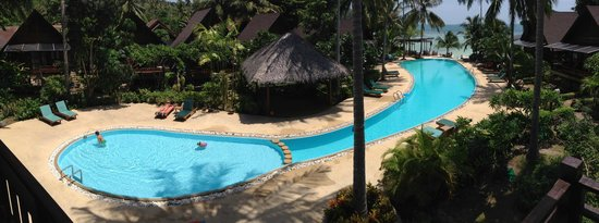Green Papaya Resort: Pool area