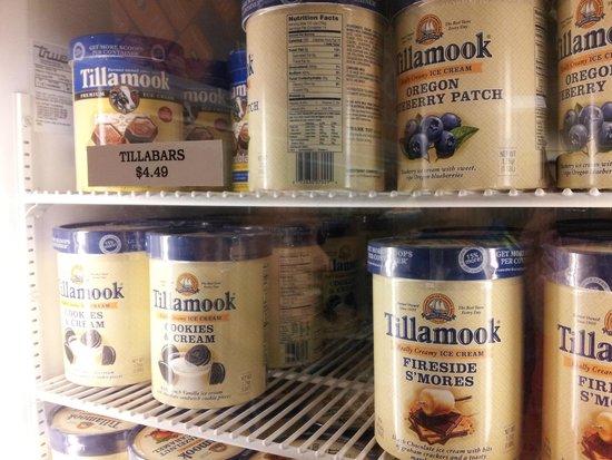 Tillamook Cheese Factory: Helados en la tienda