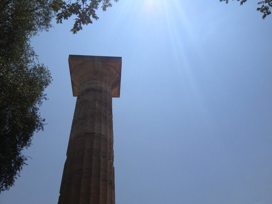 Ancient Olympia : Zeus Temple