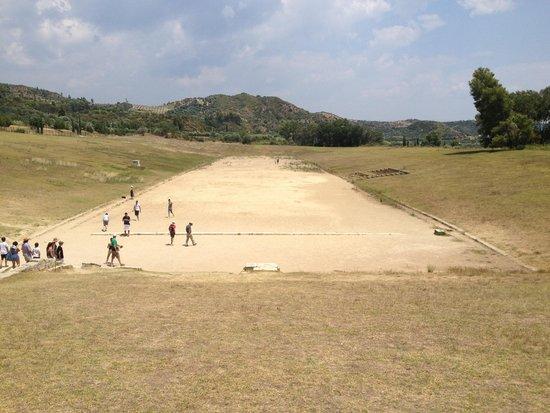 Ancient Olympia: Stadium