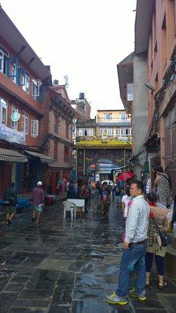 Boudhanath Stupa: 入門處