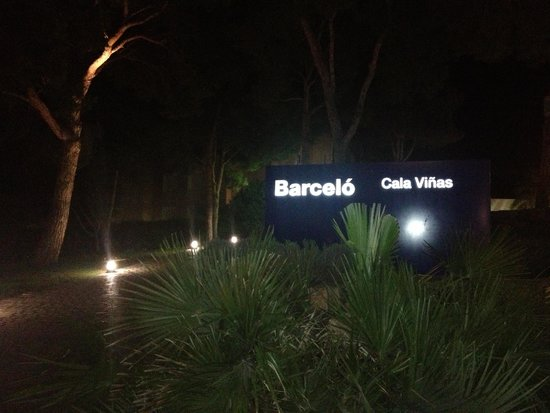 Occidental Cala Vinas: Hotel barcelo