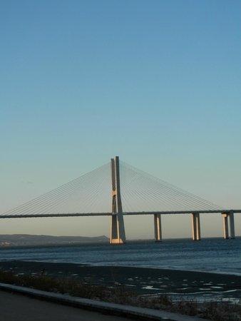 Vasco da Gama Bridge : Vista dalla passeggiata
