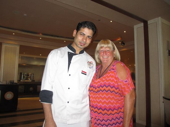 Premier Le Reve Hotel & Spa (Adults Only): My lovely Pasta Chef x