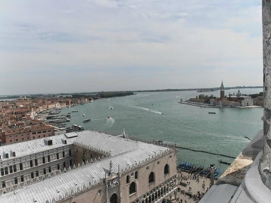 Campanile di San Marco: View of Venice and the Canal