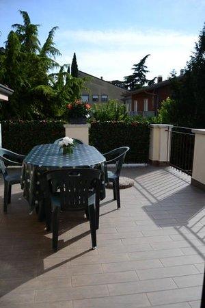 Bed and breakfast Villa Gloria: terrace