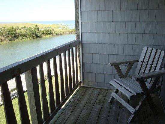 Island Motor Inn Resort: Balcony