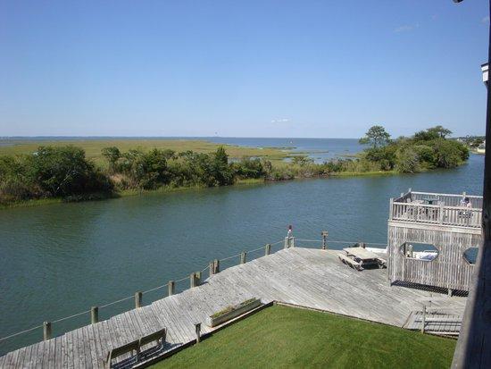 Island Motor Inn Resort: View from room