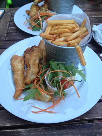 Most Bistro: Fish & chips are incredible