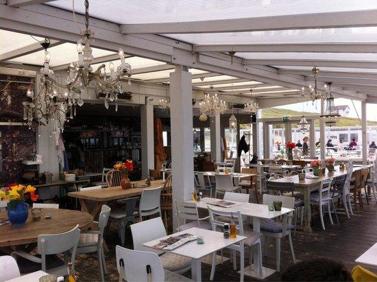 Strandpaviljoen SB Noord: Interno