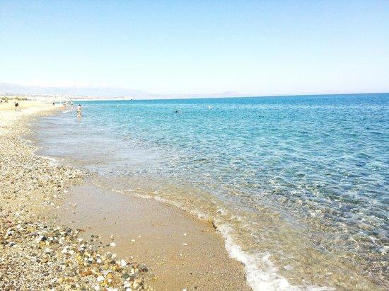 Creta Residence : Пляж